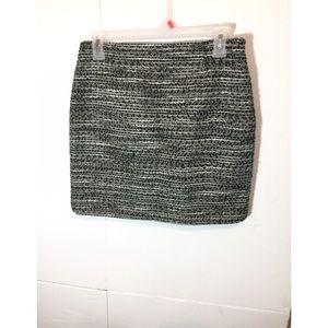 Tahari Striped Straight , Pencil Knit Skirt